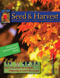 Seed and Harvest Cover October-December 2010