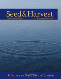Seed and Harvest Cover September-October 2008