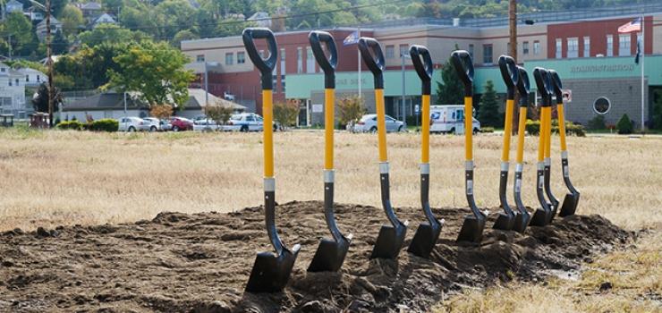 Groundbreaking for New Hotel in Ambridge, PA