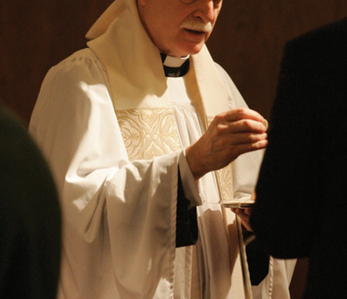 Trinity Community Bids Farewell – The Rev. Dr. Leander Harding
