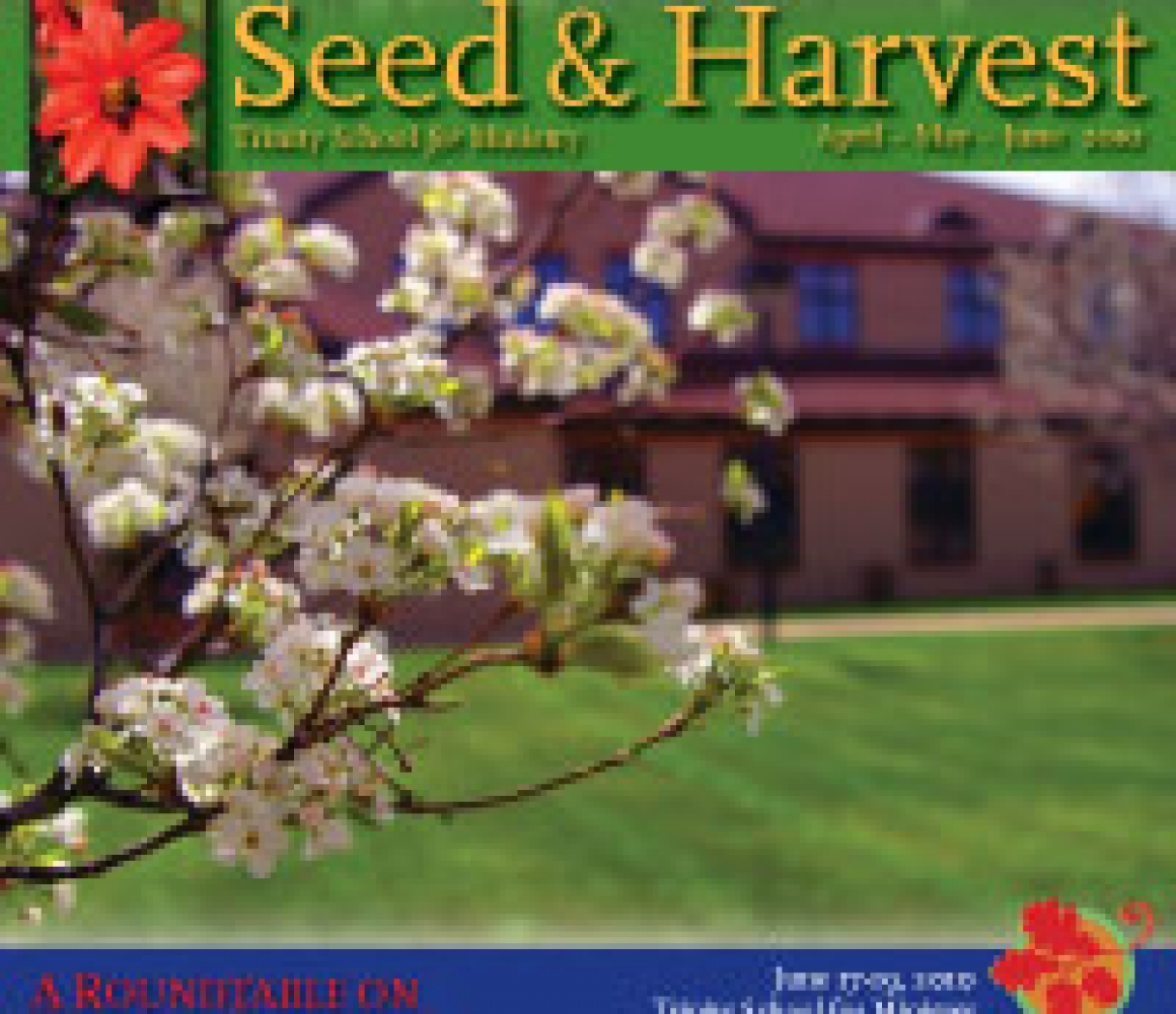 Seed & Harvest – April to June 2010