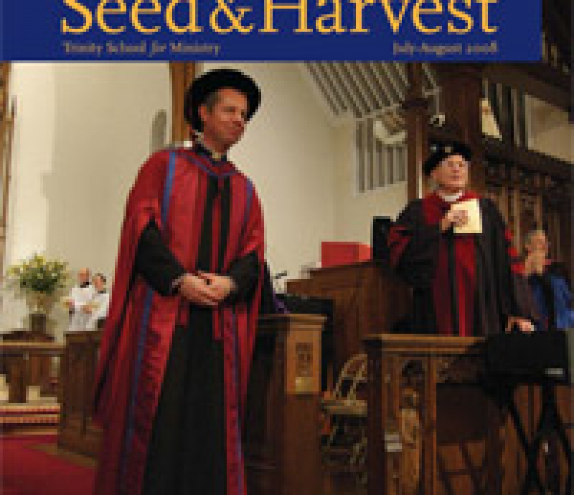 Seed & Harvest – July, August 2008