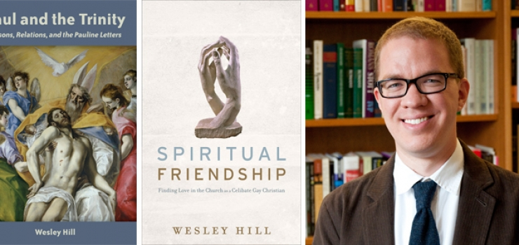 New Books by Dr. Wesley Hill Available in the Bookstore