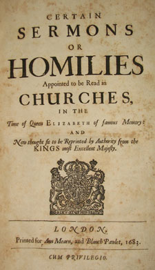 Anglican Book of Homilies